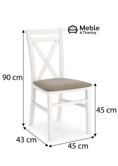 Krzesło DARIUSZ biały