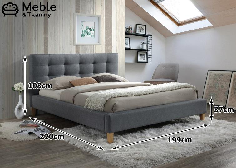 łóżko Texas 180x200 Materac Family Max
