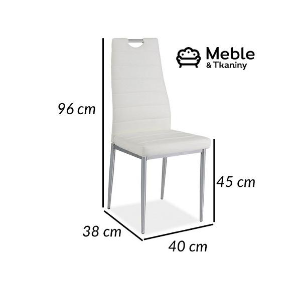 Krzesło H 260 Biały